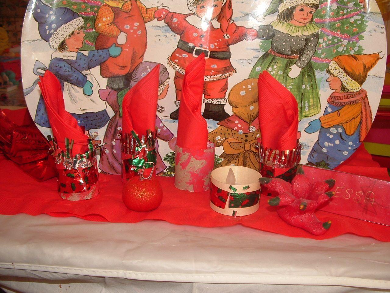 Nos décoration table de Noël