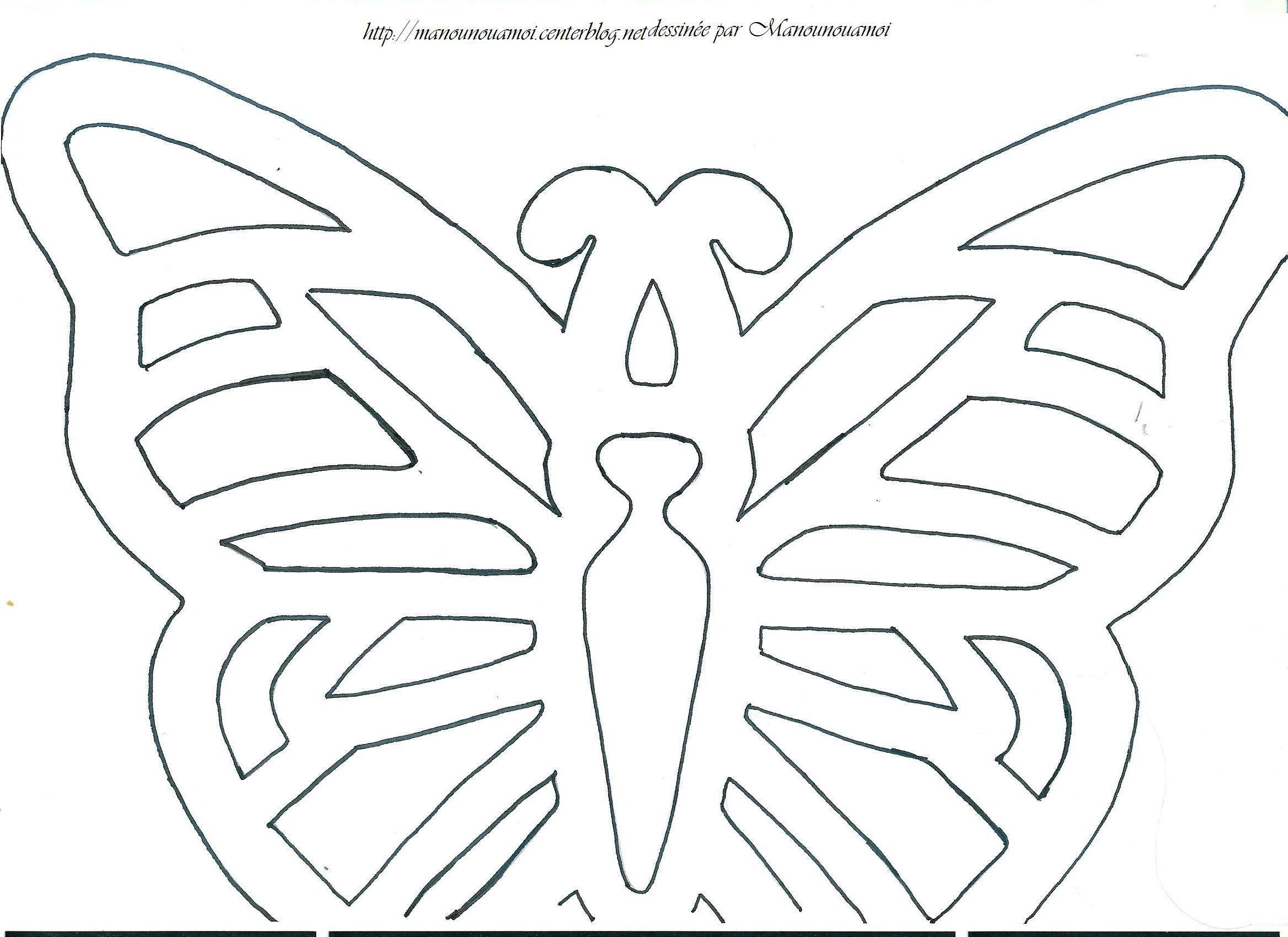 Papillon - Papillon coloriage ...